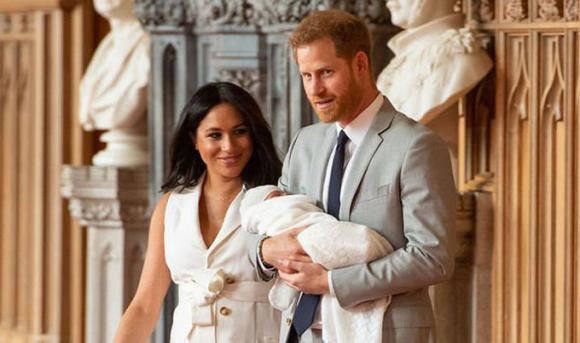 Harry,Meghan,bé Archie,Hoàng gia Anh