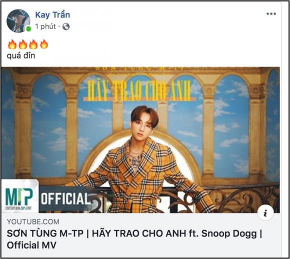 Sơn Tùng M-TP, Thu Trang, Tiến Luật, sao Việt, MV hãy trao cho anh