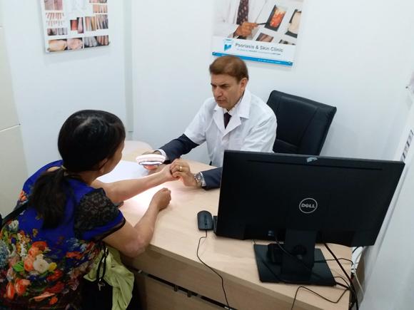 Bệnh bạch biến, Dr. Michaels Psoriasis & Skin Clinic, Phương pháp Dr. Michaels