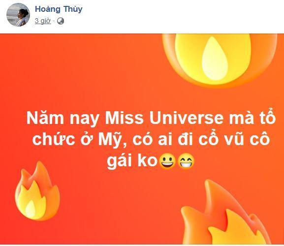 Hoàng Thùy, Hoàng Thùy thi Miss Universe 2019, Hoàng Thùy và Rocker Nguyễn