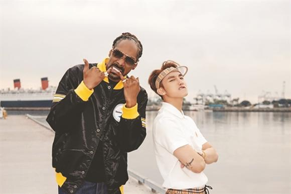 Sơn Tùng M-TP, Thiều Bảo Trâm,  rapper Snoop Dogg
