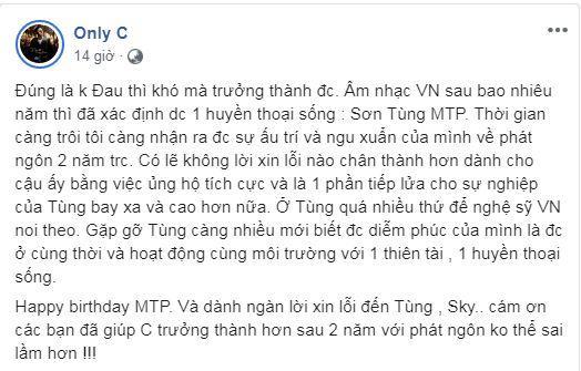Only C, Sơn Tùng MTP, sao Việt