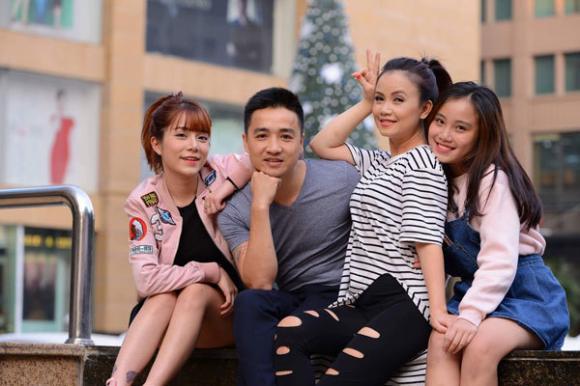 Ngân Quỳnh, Hoàng Yến, Thuý Hà, Minh Cúc, sao Việt