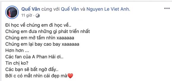 nam diễn viên Việt Anh,nữ ca sĩ quế vân,Ca sĩ quế vân, sao Việt