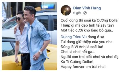 đàm vĩnh hưng, ca sĩ Mỹ Tâm, sao Việt