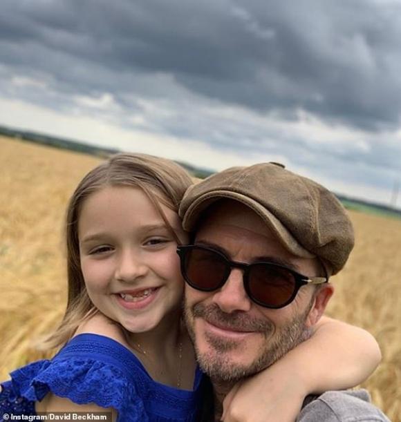 harper seven, con gái david beckham, sinh nhật, sao hollywood