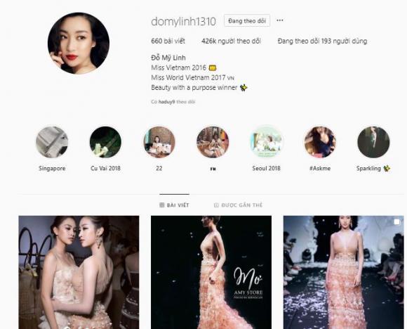 Hương Giang, lượng người theo dõi Hương Giang, Hoa hậu chuyển giới quốc tế, instagram Hương Giang
