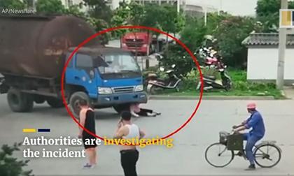tai nạn giao thông, tai nan, xe contener