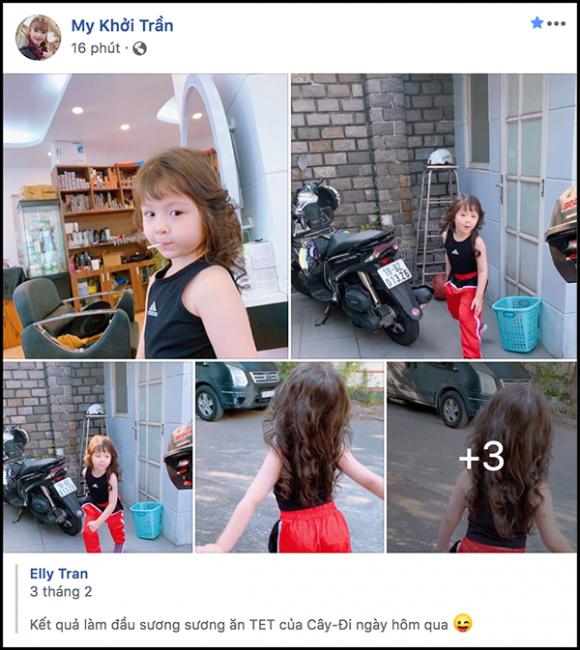 Khởi My, Elly Trần, Cadie Mộc Trà, sao việt