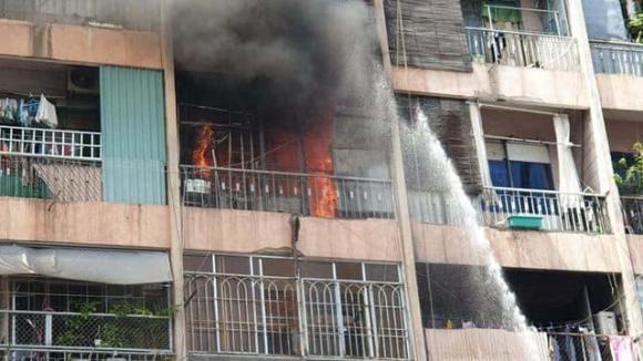 Chung cư, chung cư hà nội, chung cư bị cháy