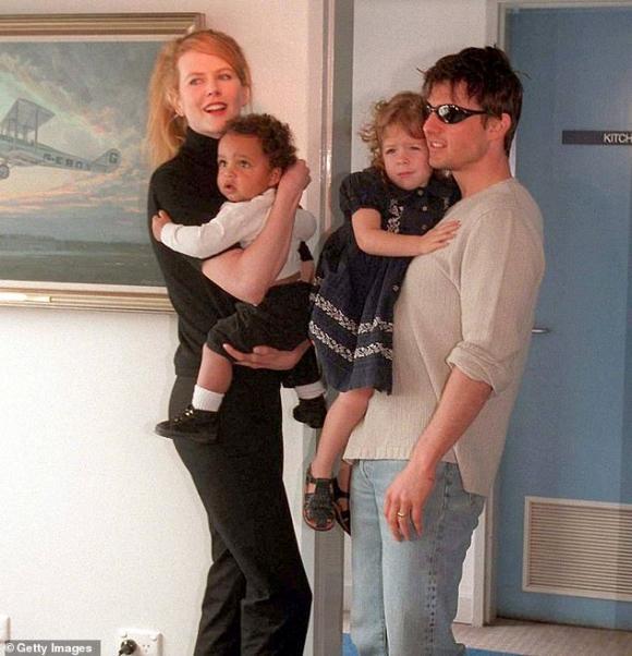 con gái Tom Cruise,bé Suri,sao Hollywood