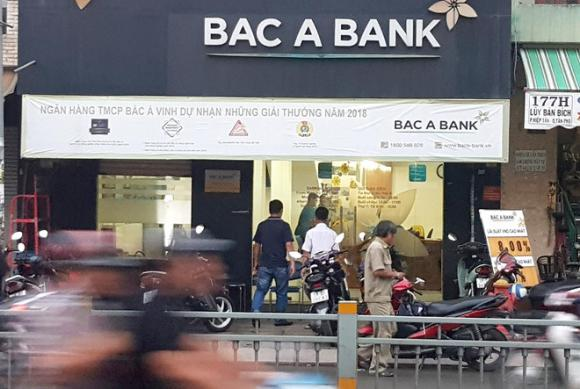 Ngân hàng Bắc Á, cướp ngân hàng, ngân hàng