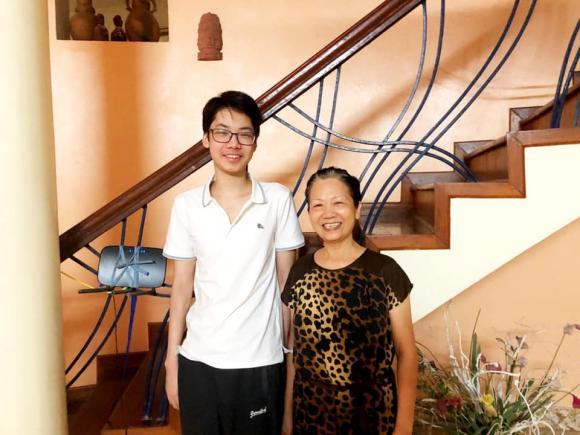 Hoa hậu Thu Thủy, con trai Hoa hậu Thu Thủy, sao Việt