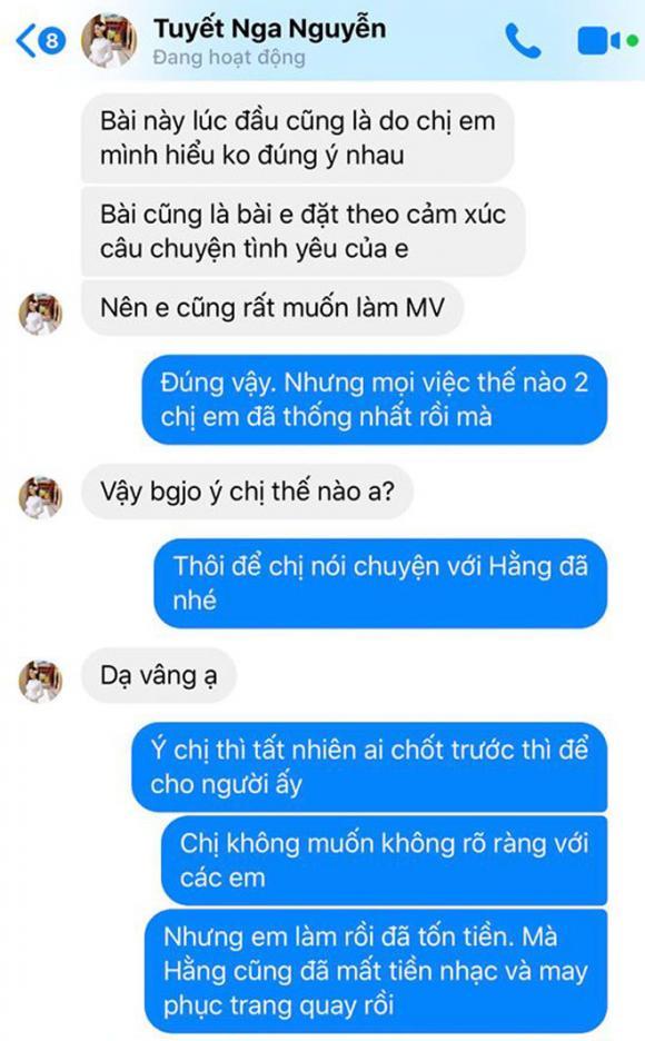 ca sĩ Phương Thảo, Tuyết Nga, sao Việt