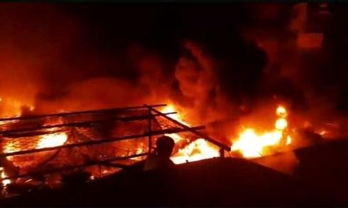 Cháy chợ, hỏa hoạn, tin nóng, cháy chợ ở Ea Kar