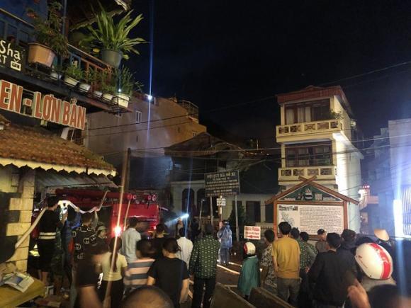 cháy nhà sapa, sapa, Lào Cai, cháy lớn ở sapa