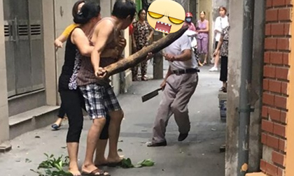 Bức ảnh gây tranh cãi, mạng xã hội, mẹ bế chó để con đi theo sau