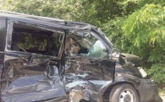 Tổng thống Ukraine, Ukraine, xe chở tổng thống, tai nạn giao thông