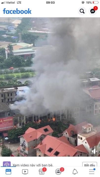 Thiên đường Bảo Sơn, Cháy biệt thự, hỏa hoạn, tin nóng