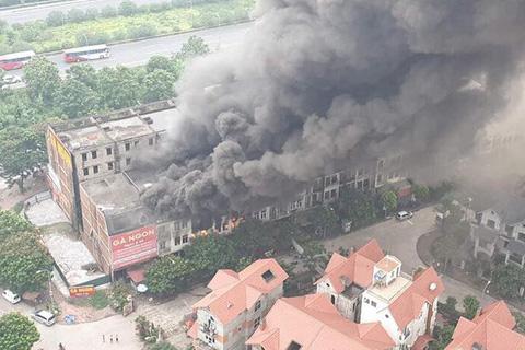 cháy nổ, hoả hoạn, Thiên đường Bảo Sơn