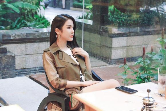 Diệp Lâm Anh,chọn đồ bầu, thời trang bà bầu