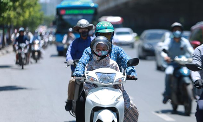 Thời tiết, Thời tiết ngày hôm nay, Hà Nội nắng nóng