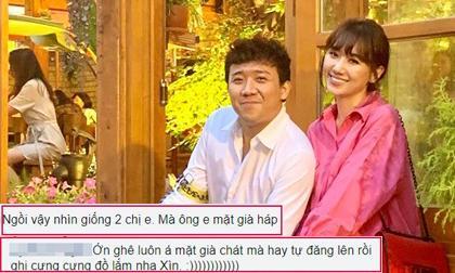 danh hài Trấn Thành,ca si hari won,nữ ca sĩ hari won, sao Việt