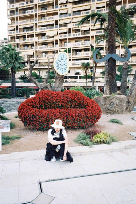 Lưu Diệc Phi,sao Hoa ngữ,Lưu Diệc Phi du lịch Monaco