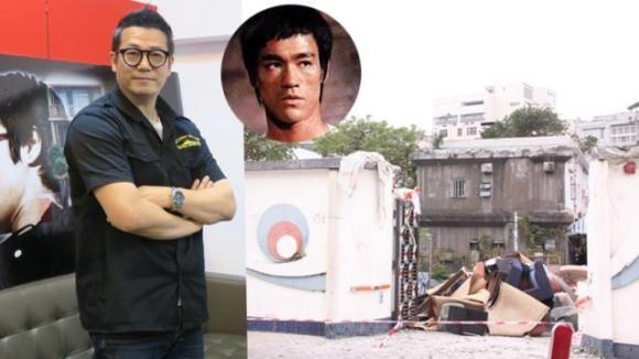 Lý Tiểu Long,sao TVB,nhà Lý Tiểu Long bị phá bỏ,sao Hàn