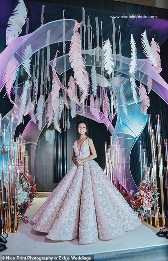 ái nữ nhà giàu, tiệc sinh nhật xa hoa, Danica Carmelina