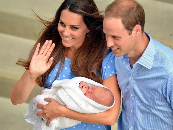 Hoàng tử George, Hoàng tử William, Công nương Kate