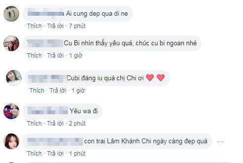 Lâm Khánh Chi , con trai Lâm Khánh Chi , sao Việt