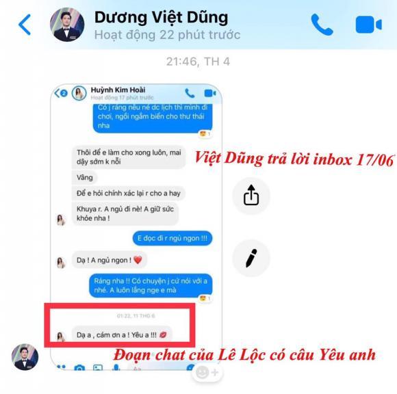 Lê Lộc, Việt Dũng 'Người ấy là ai', Người ấy là ai