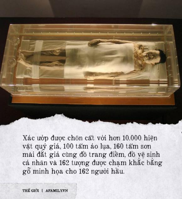 xác ướp kỳ lạ nhất thế giới, xác ướp vị phu nhân Trung Hoa, Lịch sử trung quốc, Xác ướp 2000 năm tuổi