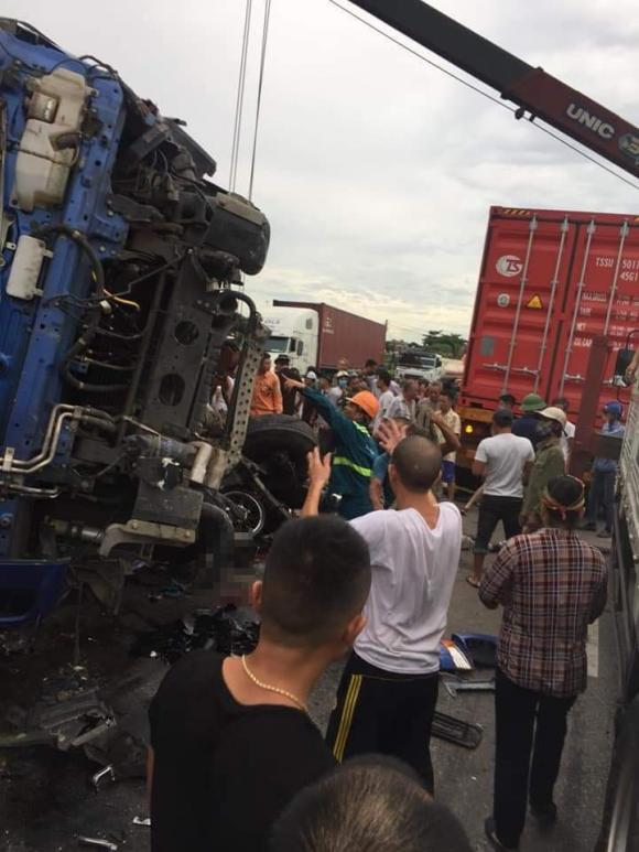 Lật xe tải, tai nạn giao thông, tai nạn chết người