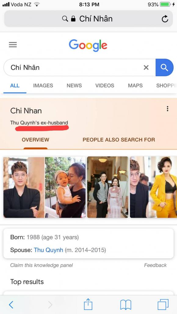 diễn viên Thu Quỳnh, diễn viên Chí Nhân, sao Việt