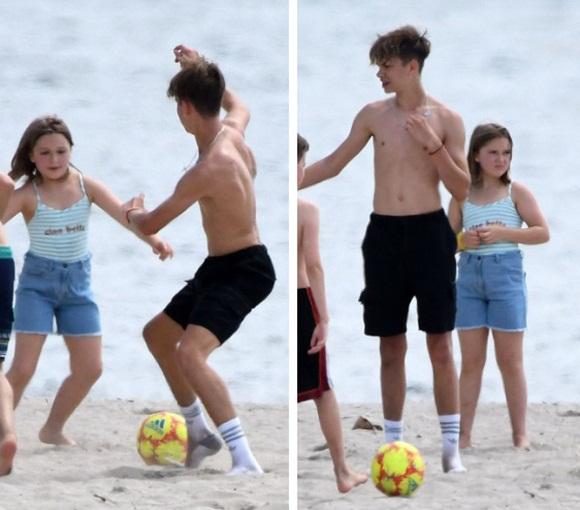nhóc tỳ nhà Beckham, gia đình Becks, bé Harper