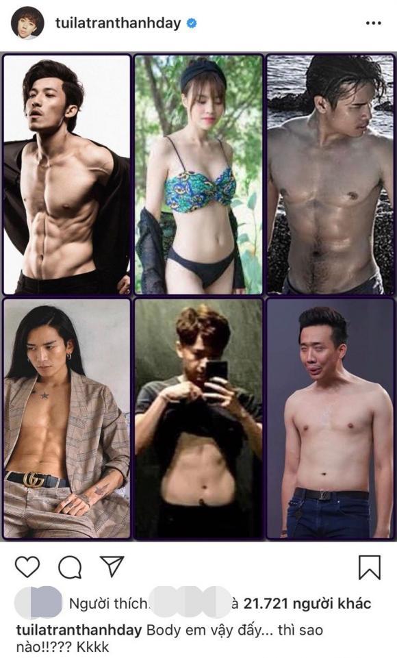 danh hài Trấn Thành, diễn viên BB Trần, diễn viên Ngô Kiến Huy, sao Việt