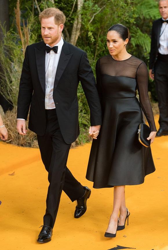 Hoàng tử Harry, Meghan Markle, nhà vợ chồng Harry