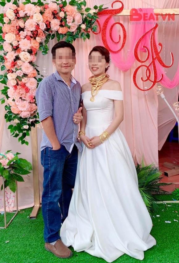 của hồi môn, cô dâu trà vinh, cô dâu đeo vàng trong ngày cưới, cô dâu đeo nhiều vàng