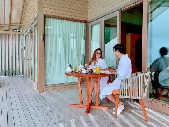 Lý Hải, vợ chồng Lý Hải, Lý Hải Minh Hà du lịch, du lịch Maldives