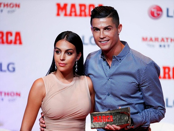 Ronaldo, Georgina Rodriguez, sao Hollywood