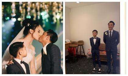 nữ ca sĩ đàm thu trang,doanh nhân cường đô la, sao Việt, ca sĩ Ngọc Sơn, quà cưới