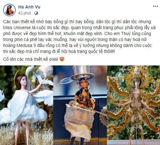 Hà Anh, Hoàng Thùy, Miss Universe 2019