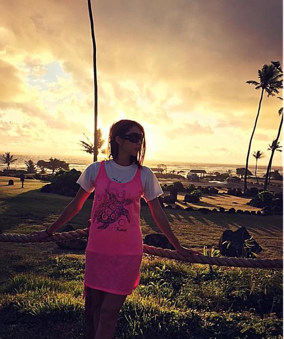 Ngọc Quyên, Ngọc Quyên du lịch, Ngọc Quyên và con trai, du lịch Hawaii