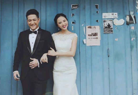 Thu Quỳnh, Thu Quỳnh và Chí Nhân, Thu Quỳnh mặc váy cưới, Thu Quỳnh Về nhà đi con