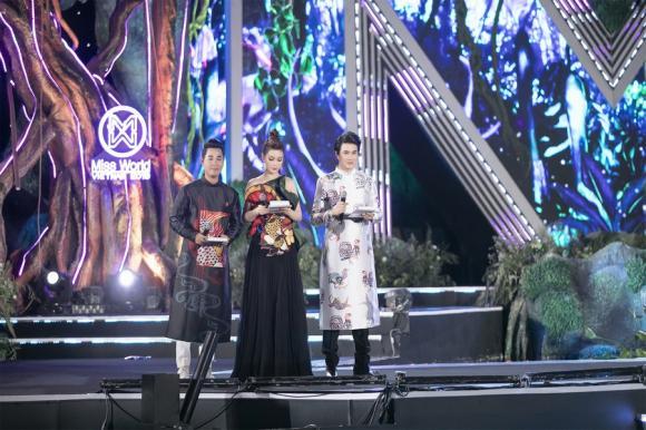 MC Vũ Mạnh Cường, Miss World Việt Nam 2019, á hậu Diễm Trang