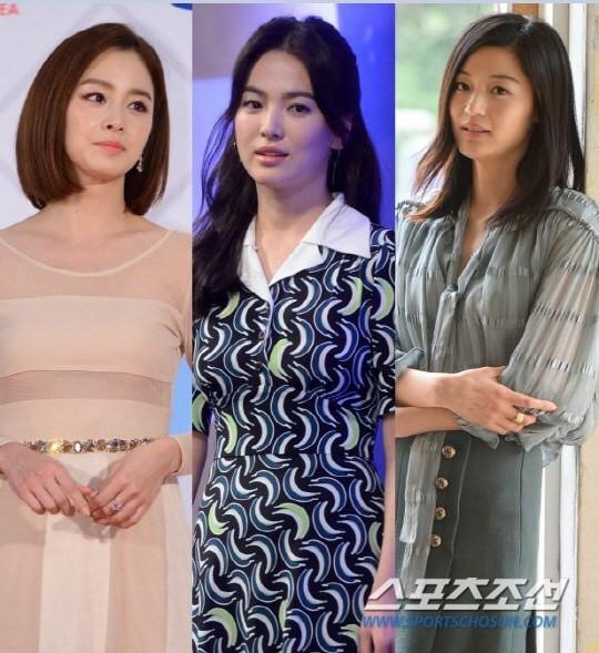 sao Hoa ngữ,sao Hàn,Song Joong Ki,Kim Tae Hee,Song Hye Kyo,Bi Rain