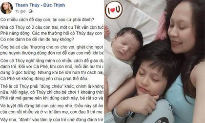 Thanh Thúy,  cách cho trẻ bú bình, trẻ bú bình, chăm con