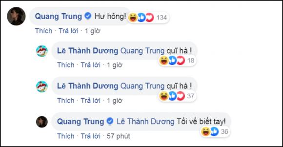 ca sĩ ngô kiến huy, trương thế vinh, diễn viên Liên Bỉnh Phát, Jun Phạm, sao Việt